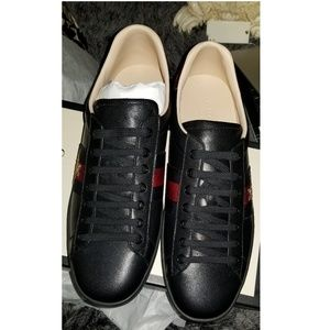 Gucci ace bee sneakers men size 10